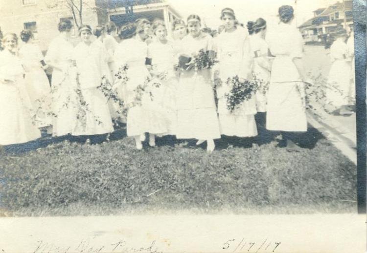 May Day parade, 1917