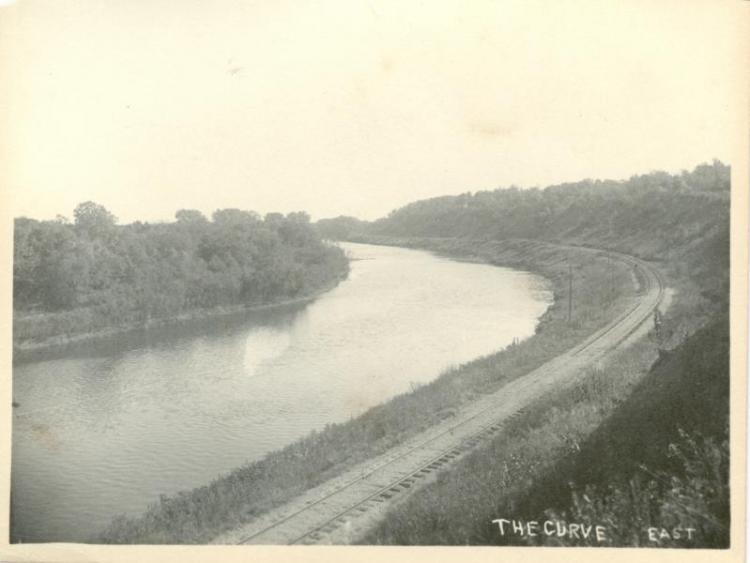 Cedar River, looking east.