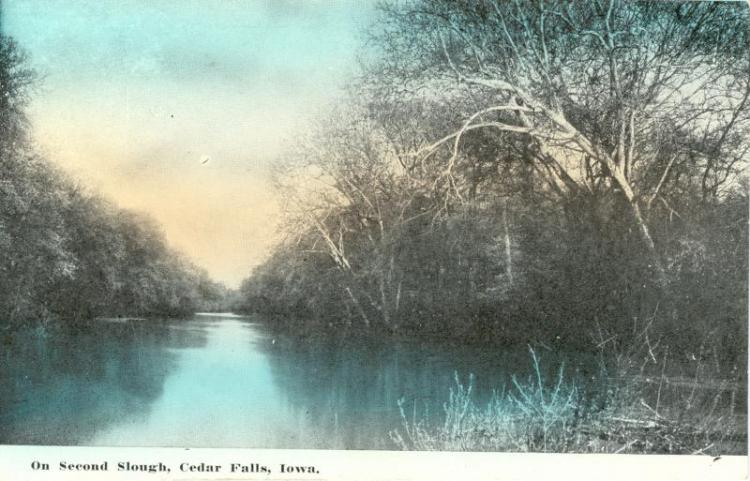 Second Slough, Cedar Falls, Iowa.