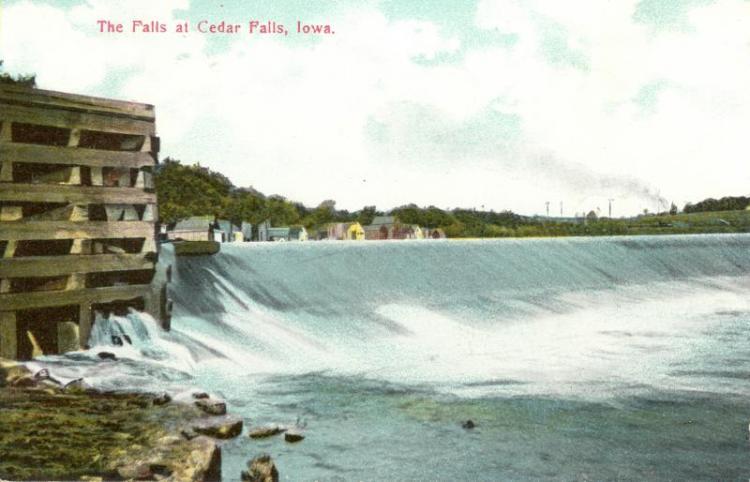 The Falls, Cedar Falls, Iowa.