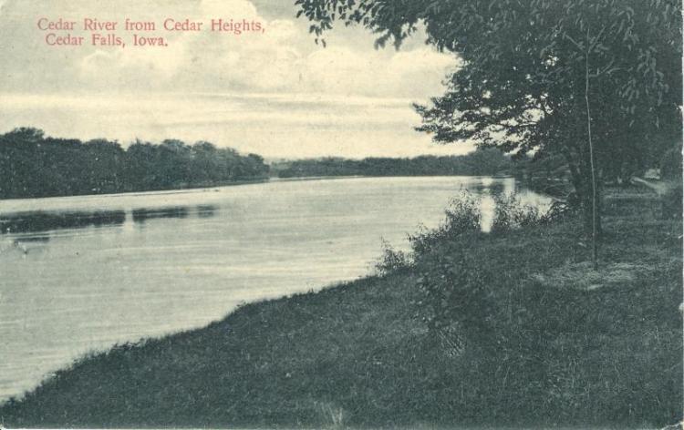 Cedar River, Cedar Falls, Iowa