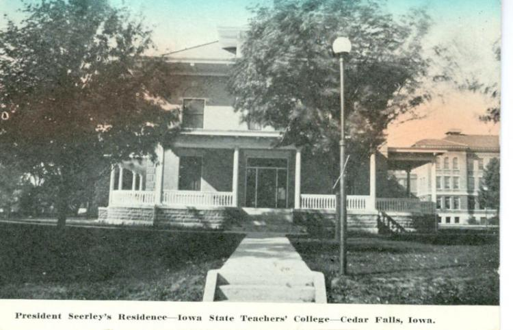 President's House, shortly after completion, about 1909.