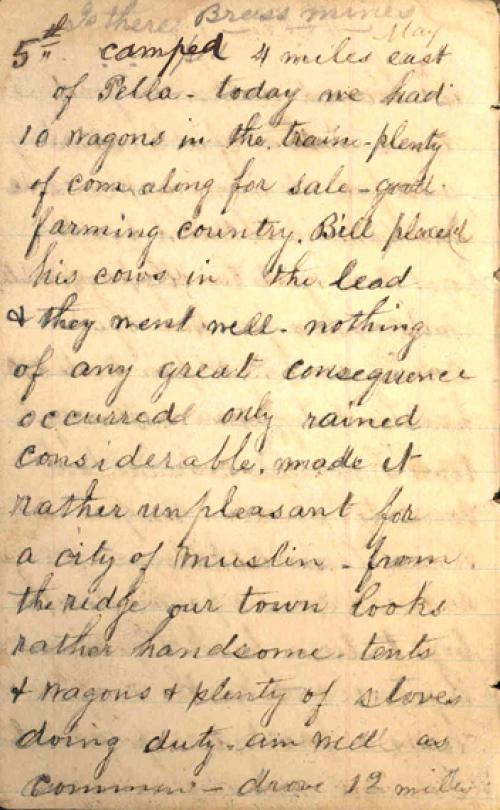Seerley journal, page 6