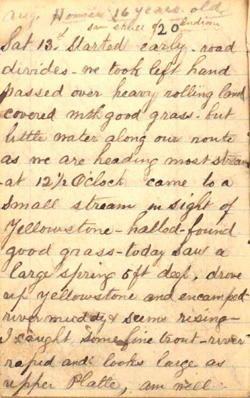 Seerley journal, page 98