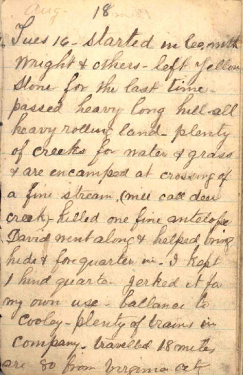 Seerley journal, page 101