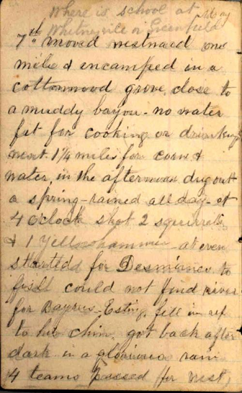Seerley journal, page 8