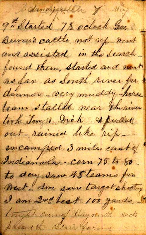 Seerley journal, page 10