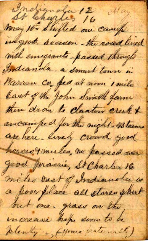 Seerley journal, page 11