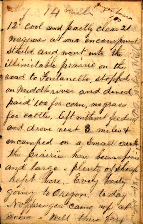 Seerley journal, page 13