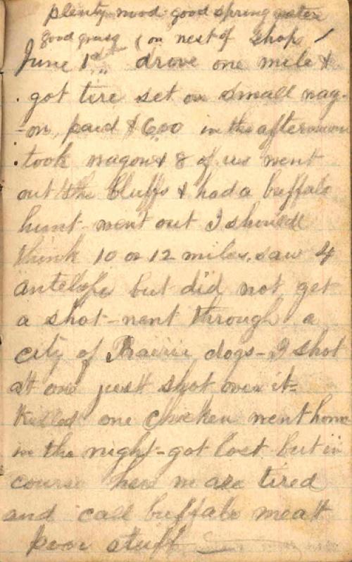 Seerley journal, page 33