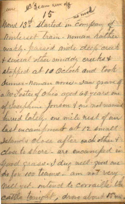 Seerley journal, page 45