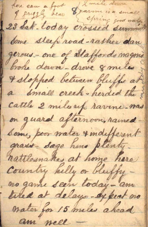 Seerley journal, page 81