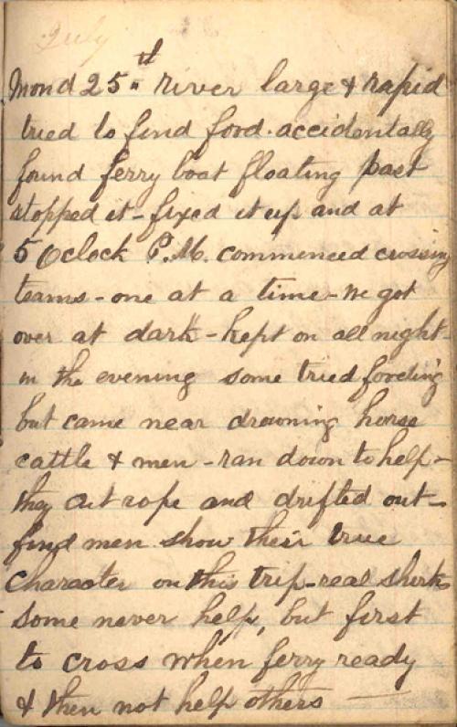Seerley journal, page 83