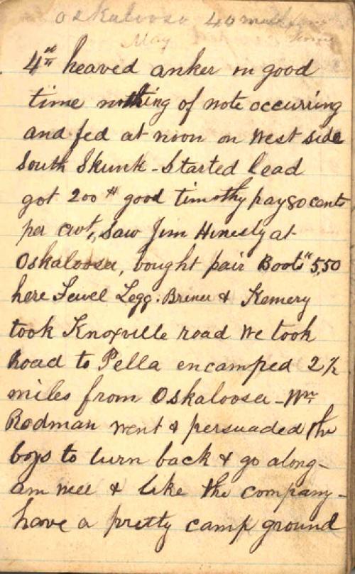 Seerley journal, page 5