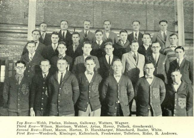 The T. C. Club, 1926