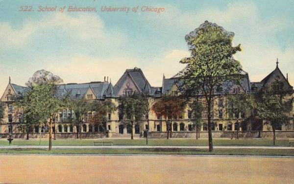 University of Chicago, about 1910.
