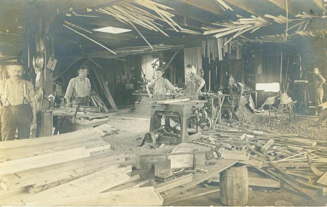 Weisbard Planing Mill, Cedar Falls, Iowa