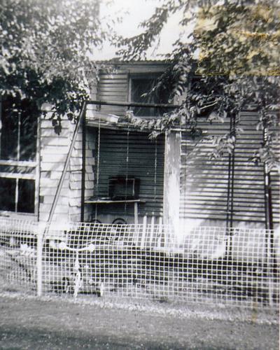 44 Army Street, Sunset Village, May 1958.