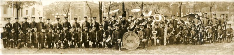 Cedar Falls Concert Band, about 1903.