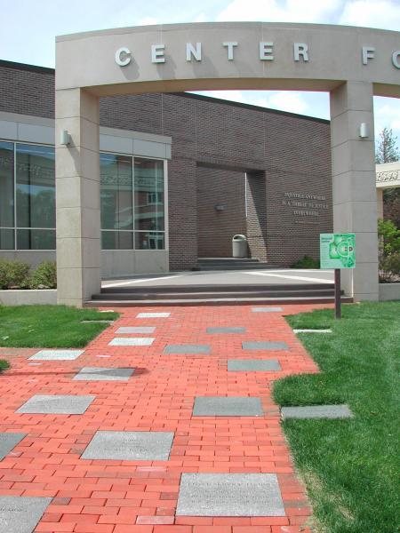 Walkway in Memorial Garden