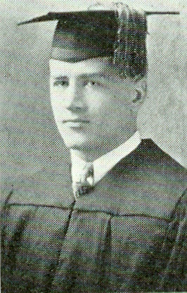 Erwin Kaltenbach, graduation, 1927