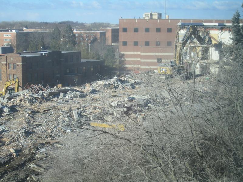 Baker Hall Demolition #18