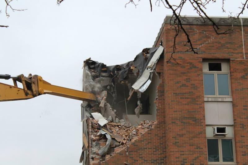 Baker Hall Demolition #5