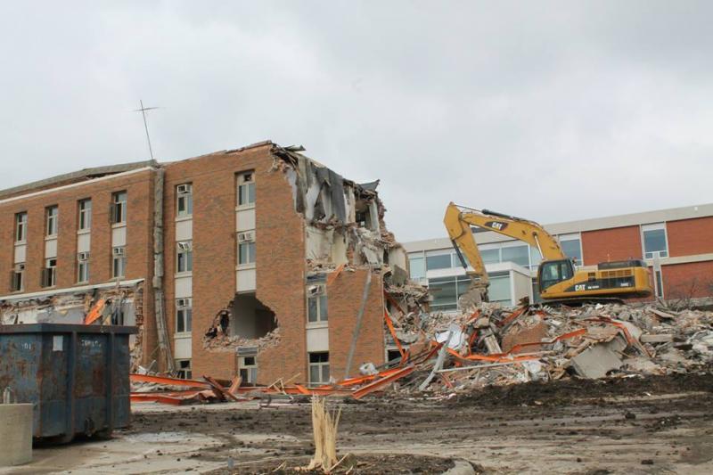 Baker Hall Demolition #6