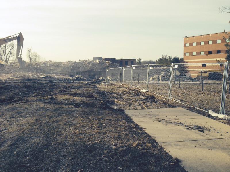 Baker Hall Demolition #19