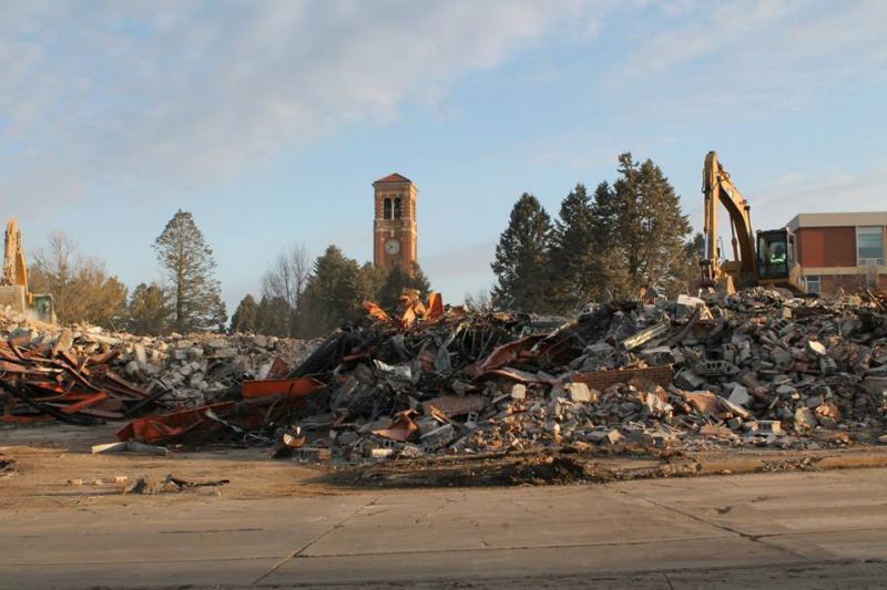 Baker Hall Demolition #20