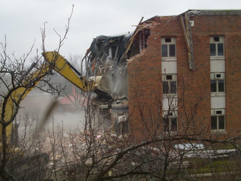 Baker Hall Demolition #7