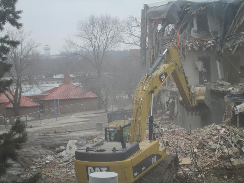 Baker Hall Demolition #8