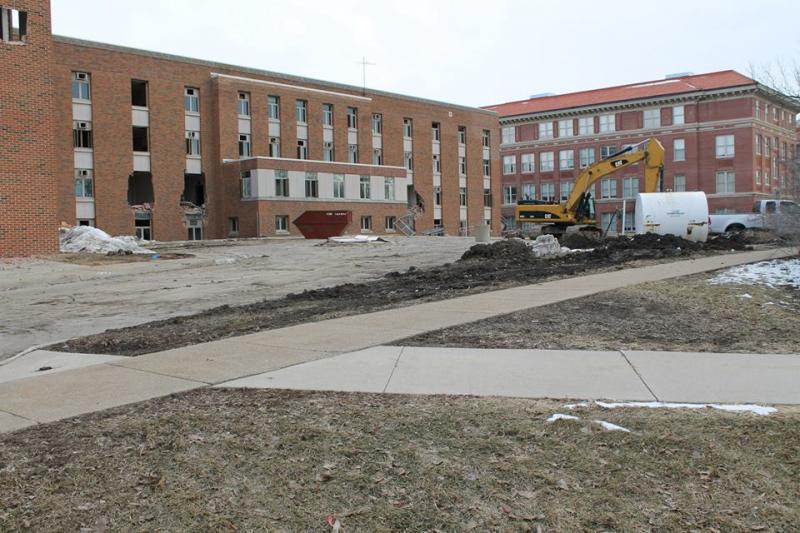 Baker Hall Demolition #3
