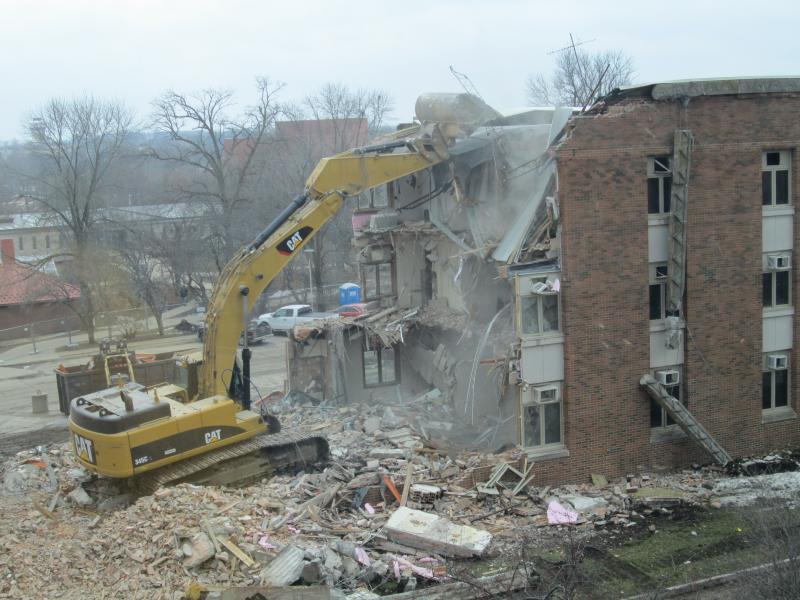 Baker Hall Demolition #9