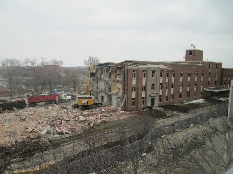 Baker Hall Demolition #10
