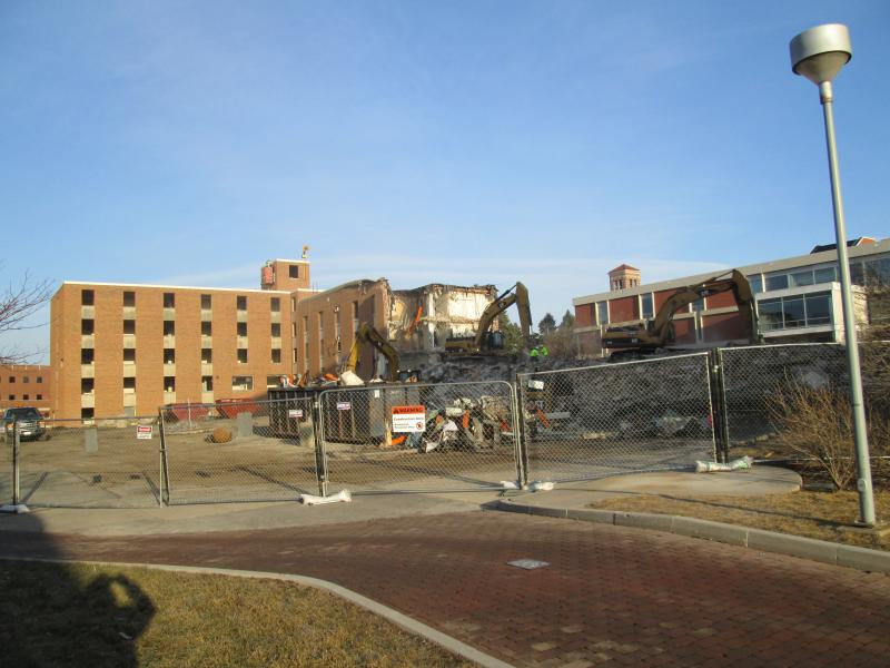 Baker Hall Demolition #11