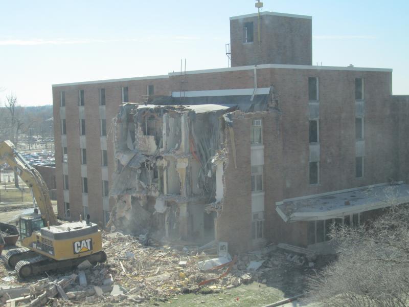 Baker Hall Demolition #12