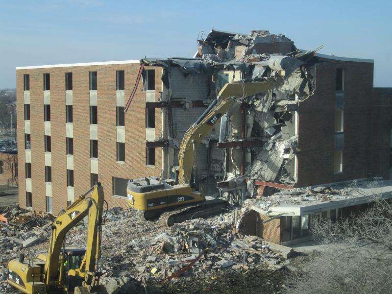Baker Hall Demolition #13