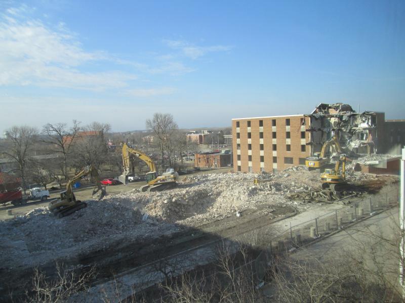 Baker Hall Demolition #14