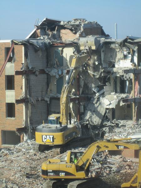 Baker Hall Demolition #15