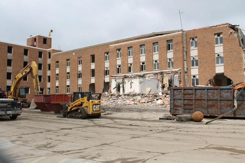 Baker Hall Demolition #4