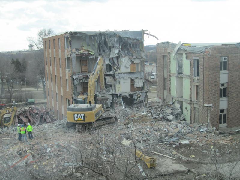 Baker Hall Demolition #16