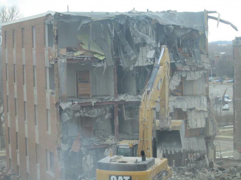 Baker Hall Demolition #17