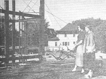 North hall construction