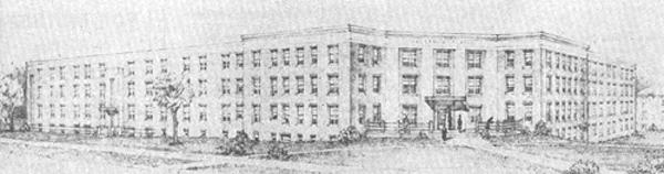 North hall sketch