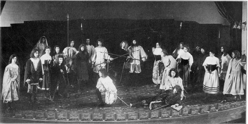If I Were King, class play, 1908