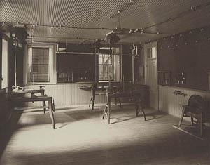 Early laboratory.