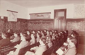 Latin class, 1893.