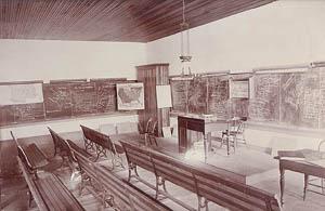 History classroom, 1891.