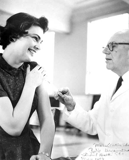 Dr. French and polio